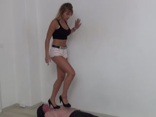 Stomping – Foot Fetish Beauties – Kimberly Trampling in High Heels!