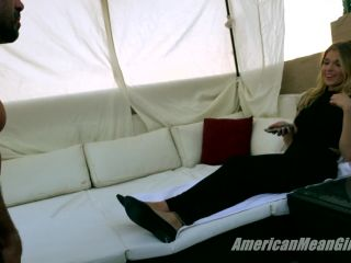 naked foot fetish The Mean Girls – Princess Amber – Worship Me for Your Key (1080 HD) – Cock Cage, Barefoot, foot slave training on fetish porn
