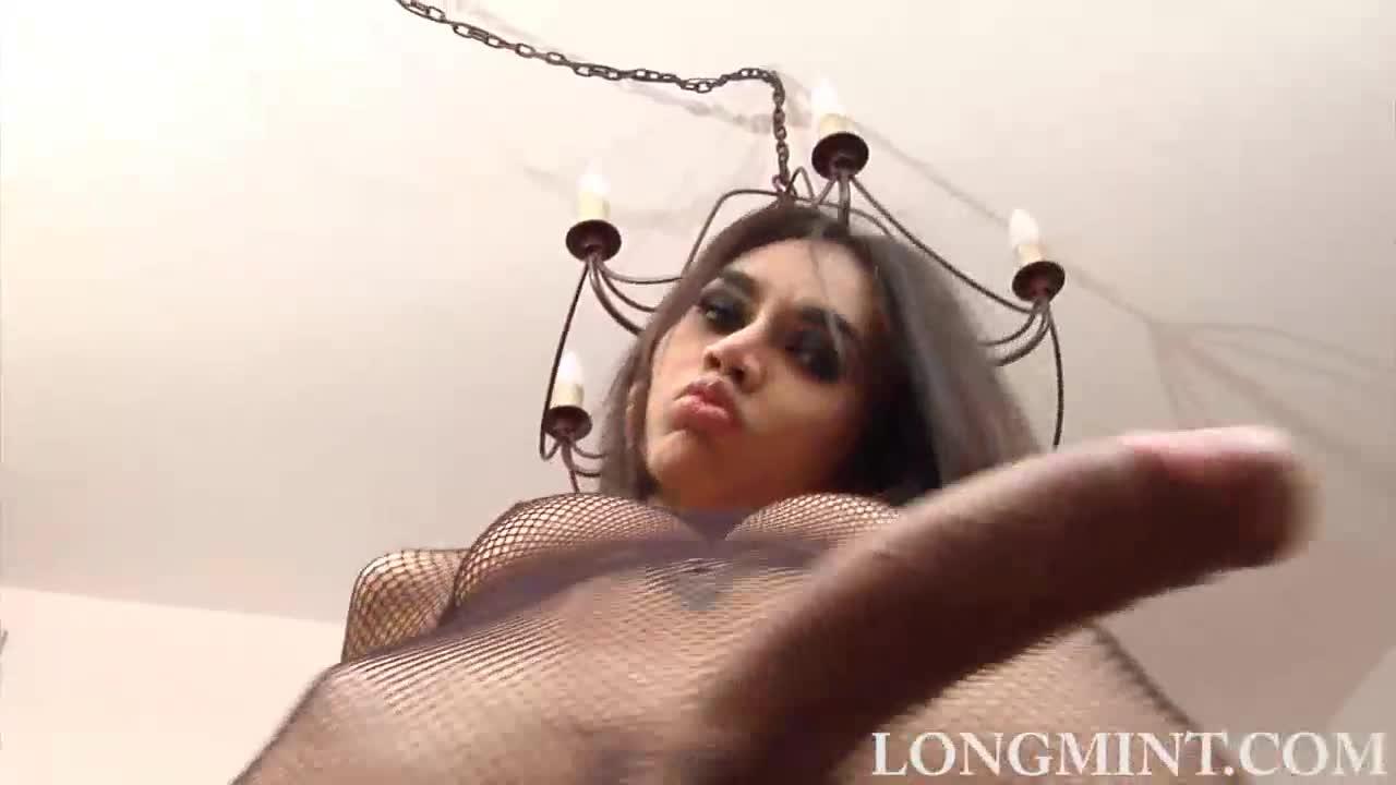 Long mint cum
