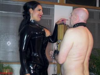 Whipping – Mistress Ezada Sinn – 100 whip lashes… just for warm-up