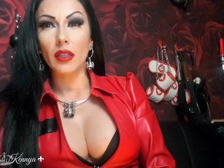 Mistress Kennya – Stroke that worm for Me – Humiliation, POV - degradation - femdom porn femdom and slave