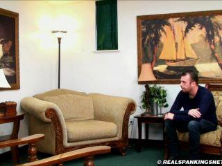 Women Spanking Men - Betty Blaze - Travis Is Punished By Miss Betty