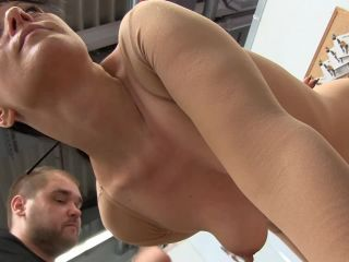 Painful anal hook