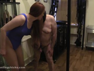 ballbustingchicks  only good for being abused  ballbusting