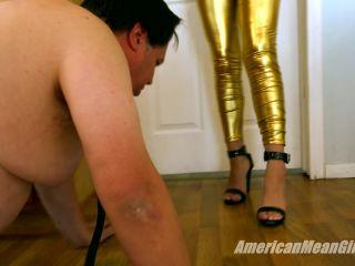 Foot Domination – THE MEAN GIRLS – Gold Medal Trampling – Princess Skylr