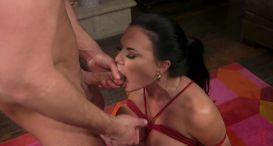 XXX-Mas Bonus: Jasmine Jae Lets Seth Gamble Dominate Her For X-Mas