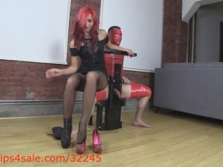 Amadahy in New spikes rip through your hard cock flesh
