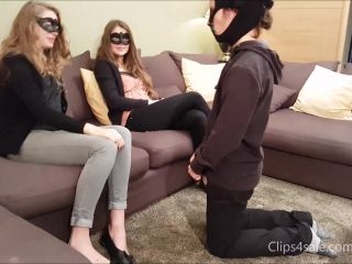 FRENCH GIRLS HARD SLAPS – Elena, Sasha – New Slave Surrenders