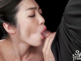 SpermMania presents Ryu Enami Cum Filled Mouth Group Blowjob - ryu enami - handjob porn