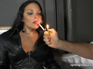 Boot Fetish – Syren Productions – Leather Clad Smoking Queen – Mistress Michelle Lacy