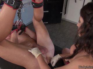 Submissive – KinkyMistresses – Ella Kros – Fucked On The Bench – Part 2