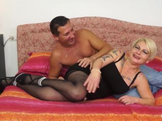 Online Tube ScambistiMaturi presents Francesca Nencetti in Busty mature tattooed Italian lady gets ass fucked and eats cum - mature
