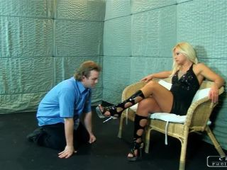 CRUEL PUNISHMENTS  Lady Zita's mischievous feet part1