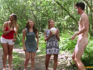 Purecfnm – Chantelle Fox, Crystal Coxxx, Ruby Ryder – Can I Have My Ball?