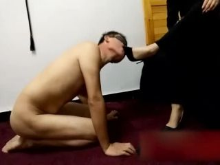 Chinese Femdom Mistress Footfetish and Hard Face Slap