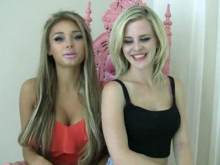Video online American Mean Girls - Goddess Suvana, Goddess Nikkole - Nikkole Learns About Foot Losers | femdom pov | pov