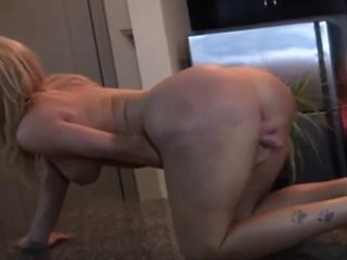 Super sexy shemale Stacy Jackson strip and stroke