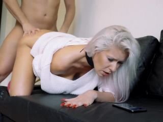 KateTruu - Hot couple anal doggy while watching porn