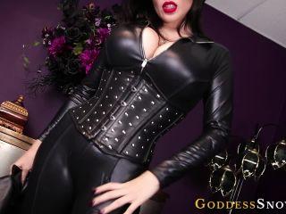 Porn online Goddess Alexandra Snow - Leather Clad Worship femdom