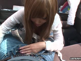 Miyashita loves to be publicly toy stuffed by her man Tsubasa Miyashit ...