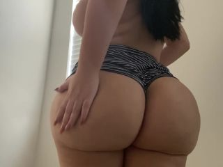 wedgie-trying-on-booty-shorts-showing-asshole