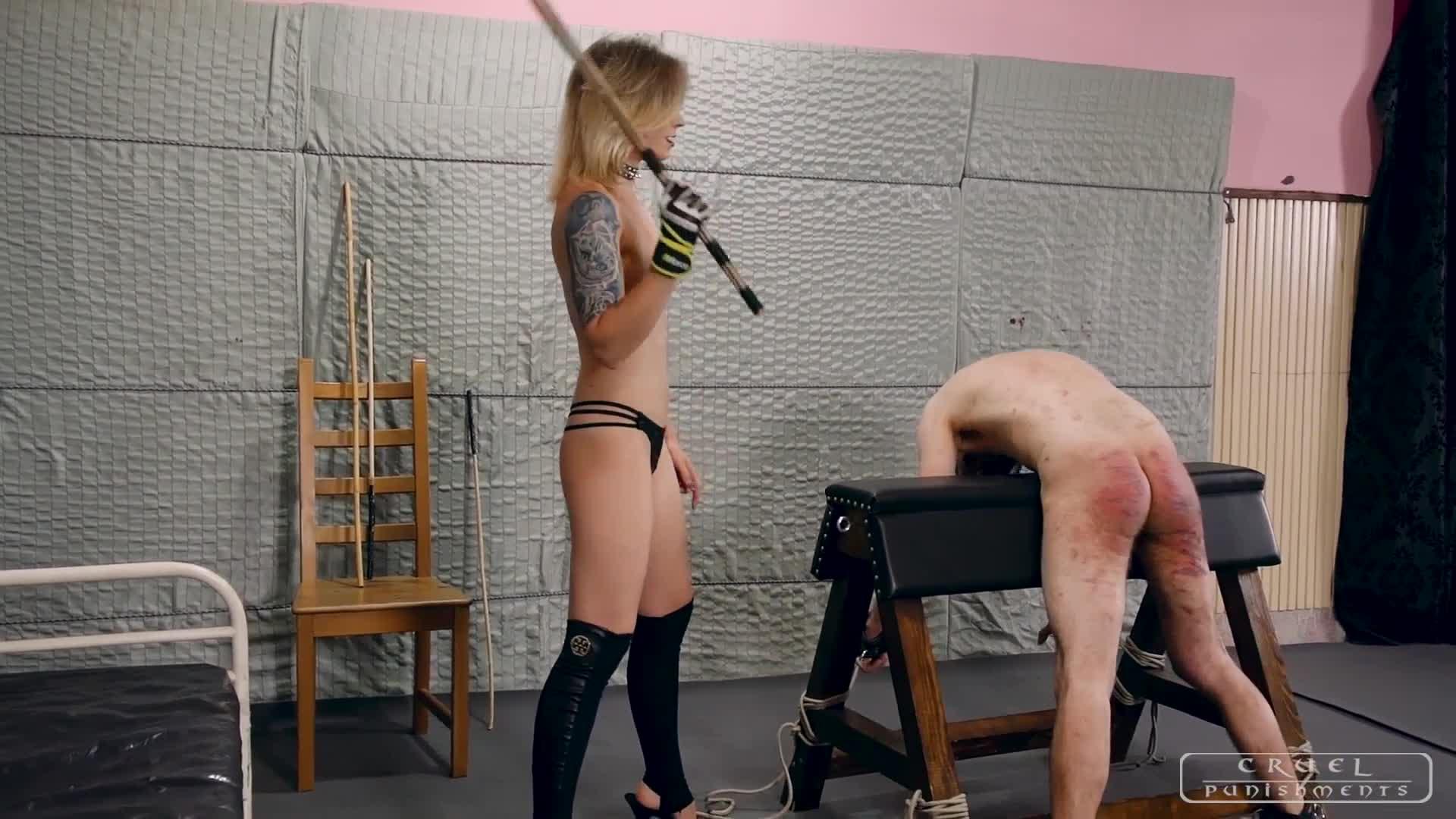 Busty femdom severe corporal punishment wanna butt fuck