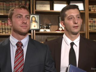 Hot Mormon Jock Fucked in Bondage to Prove His Devotion to the Church - Kink  July 2, 2015