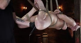 Fresh Meat: Lacy Lennon is Tied, Tormented and Made to Cum (HD)