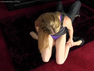 Lethal Bitches - Ayla - Who Are You Calling Fat | wrestling | fetish porn