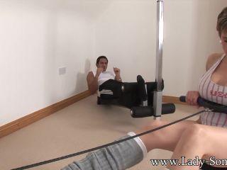 Unfaithful wife full body workout