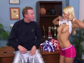 Cheerleaders Gone Bad #1 | stevie shae | brunette bdsm sperm, very big boobs ass on bdsm porn