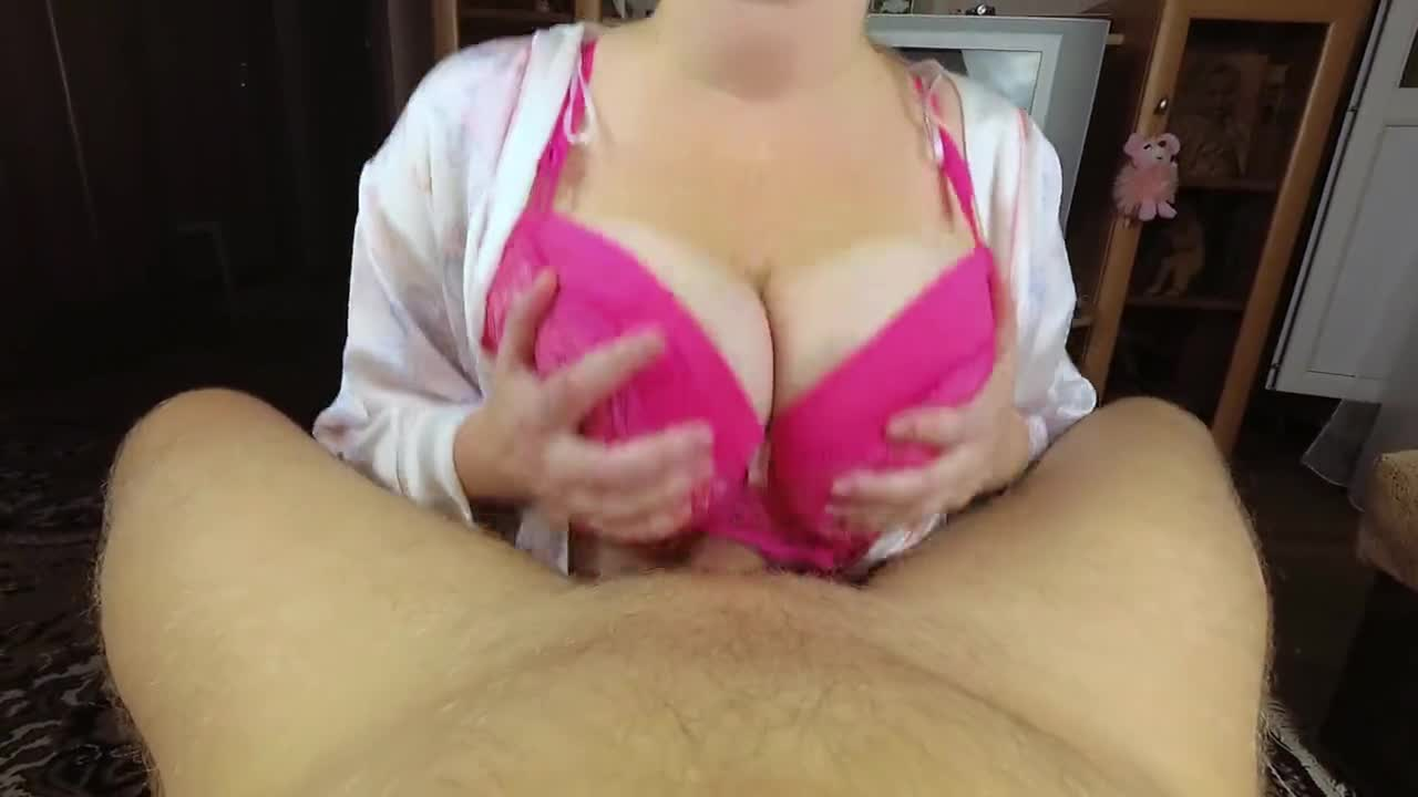 real amateur busty milf cum mouth