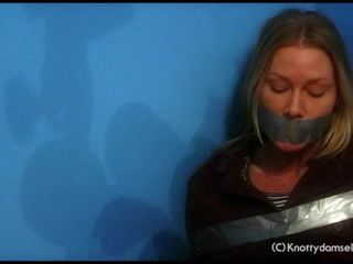 Emily Camille Duct Taped Damsel