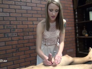 Online tube First Time Handjobs presents Gisele Roxx in Thoroughly Milked Dry