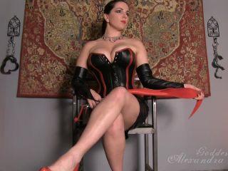 Porn online Goddess Alexandra Snow - Mistress in Leather femdom