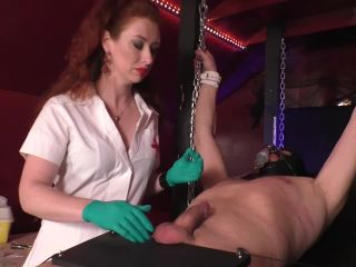 Porn online Mistress Lady Renee – Needles and nails femdom