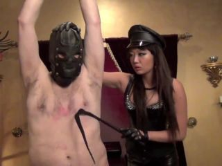 Asian Cruelty  LEATHER CLAD PERFECTION PART 3. Starring Queen Miko Dai