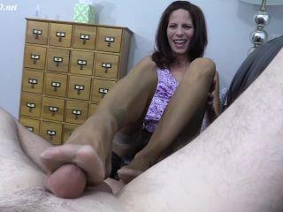 handjob - RHT Stockings   Hot Pink Toes Footjob – Arches, Toes, Heels, Soles