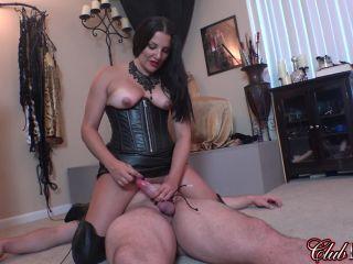 Leather Fetish – Cruel & Unusual FemDom – Michelle's Pleasure Slave 5: Slave Dildo – Mistress Michelle Lacy