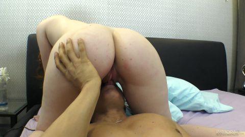 Freja Velez - Innocent Looking Redhead Likes it Rough! (1080p)