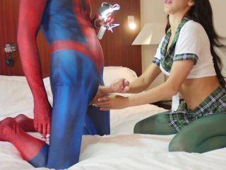 Schoolgirl Fucked By Spiderboy