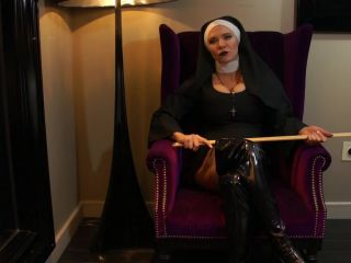 Kylee Nash - Nun Dominates You With Her Strap-On Cock
