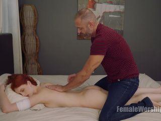 Porn online Female Worship – Pamper Me, Adore Me. Starring Alex Harper [Foot Massage, Foot Fetish, Massage, k2s, online] femdom