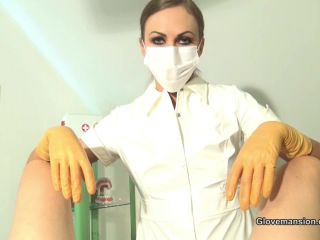 Glovemansion – Tina Kay – Gloved medicine for erectile issues Part 1