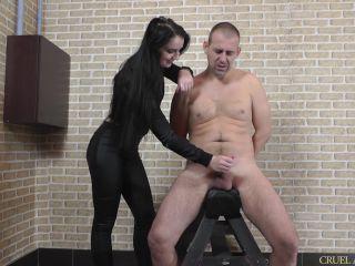 Cruel Mistresses – Full HD Double Coming – Kittina, Female Domination - milking - handjob sexy feet fetish
