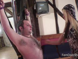 Nipple Play – FemDomShed – Red raw nipple slapping – Princess Brook
