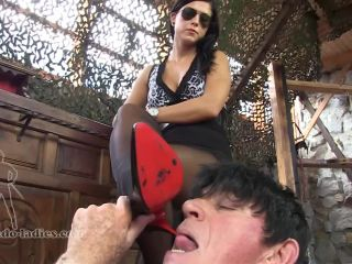SADO LADIES Femdom Clips  You Are Late, Stupid  Starring Lady Chanel