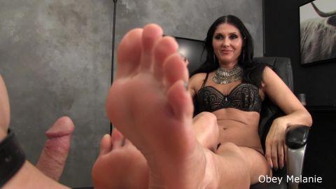 Obey Melanie - My Feet Your Dick (1080p)