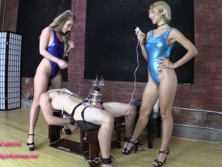 Porn online Bondage Male – Brat Princess 2 – Alexa and Harley – TENS Limit Tested while Facesat and Milked