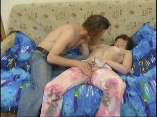 Russian Elderly Woman - Milf Helga And Three College Boys